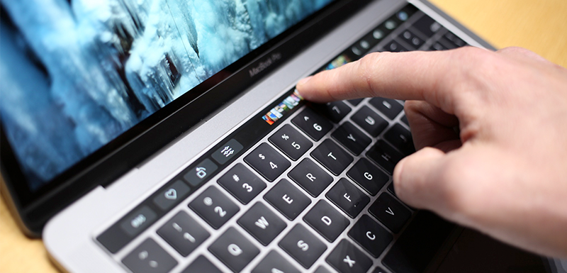 Cómo usar la Touch Bar de tu MacBook Pro